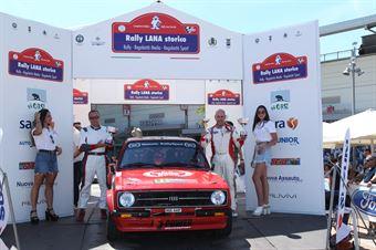 Fioravanti Ivan,Canepa Andrea(Ford Escort Rs,Team Bassano,#12), CAMPIONATO ITALIANO RALLY AUTO STORICHE