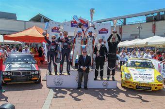 podio, CAMPIONATO ITALIANO RALLY AUTO STORICHE