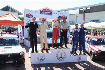 Podio Trofeo A112 Abart, CAMPIONATO ITALIANO RALLY AUTO STORICHE
