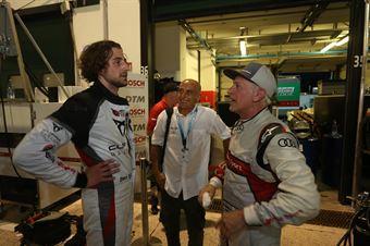Capello (Scuderia del Girasole, Audi RS3 LMS TCR DSG #1) e Giovanni Altoè (Scuderia del Girasole,Cupra TCR DSG #63), TCR DSG ENDURANCE