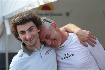 Pelatti (Scuderia del Girasole, Audi RS3 LMS TCR DSG #7) e Guido Sciaguato  (BD Racing,Cupra TCR DSG #31), TCR DSG ENDURANCE