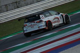 Michele Imberti (Elite Motorsport, Volkswagen Golf GTI TCR DSG #19), TCR DSG ENDURANCE