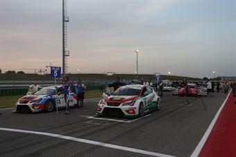 Biraghi Costamagna  (RS+A Motortech,Cupra TCR DSG #36) sulla griglia di partenza, TCR DSG ENDURANCE