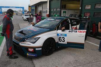 Altoè Altoè (Scuderia del Girasole,Cupra TCR DSG #63), TCR DSG ENDURANCE