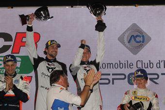 Podio: vincitori assoluti Altoè Altoè (Scuderia del Girasole,Cupra TCR DSG #63), TCR DSG ENDURANCE