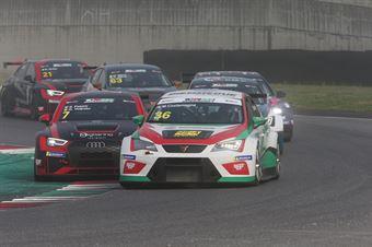 Marco Costamagna  (RS+A Motortech,Cupra TCR DSG #36)Pelatti Volpato (Scuderia del Girasole,Audi RS3 LMS TCR DSG #7), TCR DSG ITALY ENDURANCE