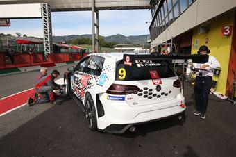 Patrinicola Nicoli (Scuderia del Girasole, Volkswagen Golf GTI TCR DSG #9), TCR DSG ITALY ENDURANCE