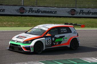 Tapparo Cassara (Pit Lane Competizioni,Volkswagen Golf GTI TCR DSG #83), TCR DSG ITALY ENDURANCE