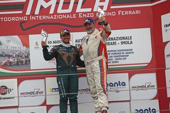 Podio DSG gara 1 Eric Scalvini (Sc. del Girasole   Cupra Racing,Cupra TCR DSG #19) Matteo Bergonzini (BF Motorsport,Cupra TCR DSG#72), TCR ITALY TOURING CAR CHAMPIONSHIP