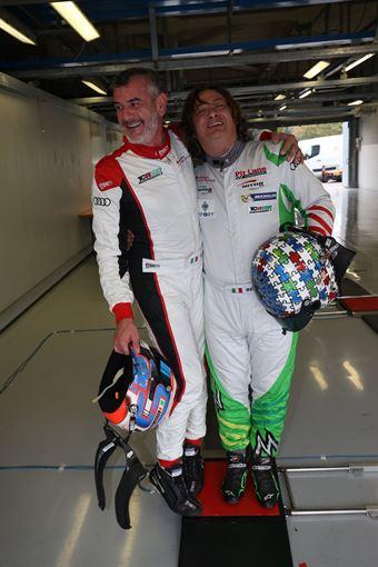 Sandro Pelatti (Girasole,Audi RS3 LMS TCR DSG #7)Enrico Bettera (Pit Lane Competizioni,Audi RS3 LMS SEQ #69), TCR ITALY TOURING CAR CHAMPIONSHIP