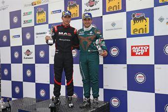 Gara 1 Jacopo Guidetti (BF Motorsport,Audi RS3 LMS SEQ TCR DSG#71)Eric Scalvini (Sc. del Girasole   Cupra Racing,Cupra TCR DSG #19), TCR ITALY TOURING CAR CHAMPIONSHIP