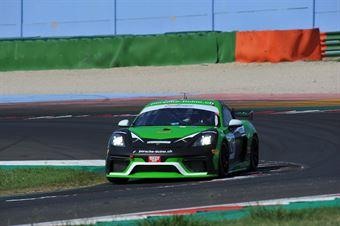 Arrigosi Matteo Pan Adriano, Porsche Cayman 718 GT4 #297, CRAM Motorsport, CAMPIONATO ITALIANO GRAN TURISMO