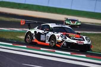 Cassara Marco De Giacomi Alex, Porsche 991 GT3R #91, Dinamic Motorsport, CAMPIONATO ITALIANO GRAN TURISMO