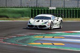 Chiesa Riccardo Greco Matteo, Ferrari 488 Challenge #355, Easy Race, CAMPIONATO ITALIANO GRAN TURISMO