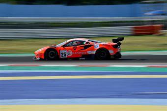 Di Amato Daniele Vezzoni Alessandro; Ferrari 488 GT3 #25; RS Racing, CAMPIONATO ITALIANO GRAN TURISMO