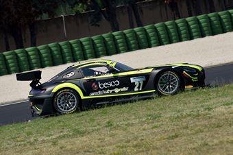 Ferrari Lorenzo Zampieri Daniel, Mercedes AMG GT3 #27, AKM Motorsport, CAMPIONATO ITALIANO GRAN TURISMO