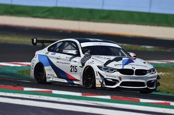Guerra Francesco Riccitelli Simone, BMW M4 GT4 #215, BMW Team Italia, CAMPIONATO ITALIANO GRAN TURISMO