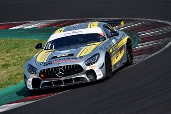 Marchetti Alessandro Mantori Carlo, Mercedes AMG GT4 #207, Nova Race Events, CAMPIONATO ITALIANO GRAN TURISMO