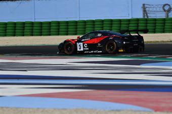 Michelotto Mattia Hudspeth Sean, Ferrari 488 #3, Easy Race, CAMPIONATO ITALIANO GRAN TURISMO