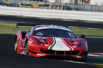 Roda Giorgio Rovera Alessio, Ferrari 488 GT3 #71, AF Corse, CAMPIONATO ITALIANO GRAN TURISMO