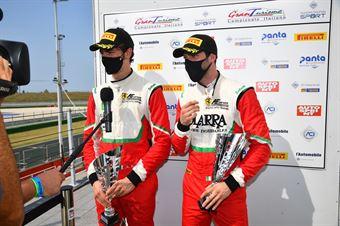 Rovera Alessio Roda Giorgio, Ferrari 488 GT3 #71, AF Corse, CAMPIONATO ITALIANO GRAN TURISMO