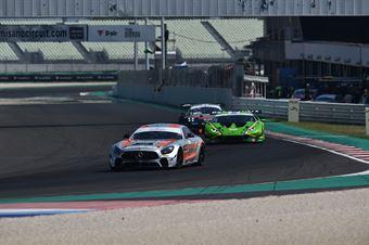 Segu Luca De Luca Francesco M, Mercedes AMG GT4 #227, New Race Events, CAMPIONATO ITALIANO GRAN TURISMO