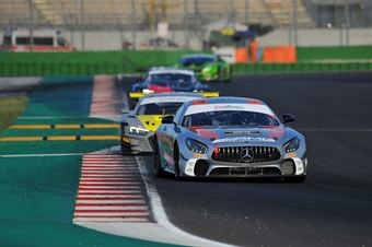 Segu Luca De Luca Francesco M; Mercedes AMG GT4 #227; New Race Events, CAMPIONATO ITALIANO GRAN TURISMO