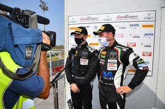 Venturini Giovanni Galbiati Kikko, Lamborghini Huracan GT3 #32, Imperiale Racing, CAMPIONATO ITALIANO GRAN TURISMO