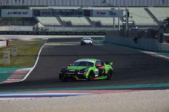 Webster Daniel Riva Giacomo, Porsche Cayman 718 GT4 #299, CRAM Motorsport, CAMPIONATO ITALIANO GRAN TURISMO