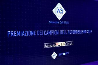 Premiazione Campioni ACI 2019, colore, CAMPIONATO ITALIANO RALLY