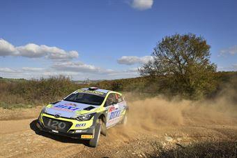 Fabio Battilani Jasmine Manfredi, Hyundai i20 R5 #26, CAMPIONATO ITALIANO RALLY TERRA