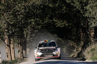 Marco Bulacia Marcelo Der Ohannesian, Skoda Fabia R5 #11, Meteco Corse, CAMPIONATO ITALIANO RALLY TERRA