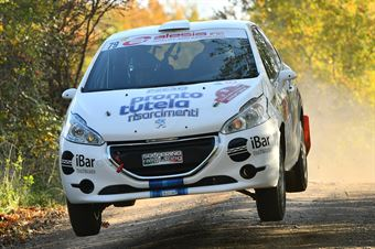 Marco Dallamano Fabio Grimaldi, Peugeot 208 R2 #79, CAMPIONATO ITALIANO RALLY TERRA