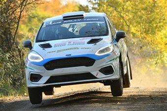 Andrea Gallu Fabio Salis, Ford Fiesta Rally4 #80, CAMPIONATO ITALIANO RALLY TERRA