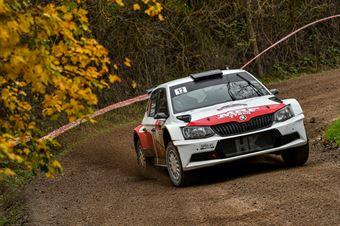 Emil Lindholm Mikael Korhonen, Skoda Fabia R5 #12, Gass Racing, CAMPIONATO ITALIANO RALLY TERRA