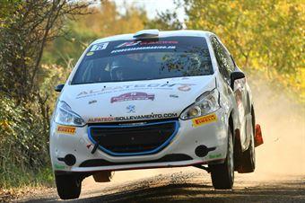 Alex Raschi Massimo Bizzocchi, Peugeot 208 R2 #75, CAMPIONATO ITALIANO RALLY TERRA