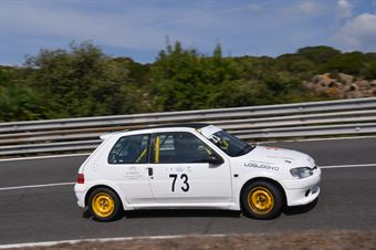 BASOLI Salvatore ( Peugeot 106 #73), CAMPIONATO ITALIANO VELOCITÀ MONTAGNA