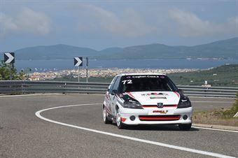 BODANO Vincenzo ( Team Autoservice Sport , Peugeot 106 #72), CAMPIONATO ITALIANO VELOCITÀ MONTAGNA