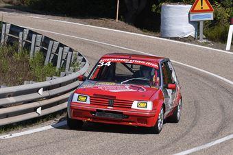 SECCHI Ottavio ( Team Autoservice Sport, Peugeot 205 #34), CAMPIONATO ITALIANO VELOCITÀ MONTAGNA