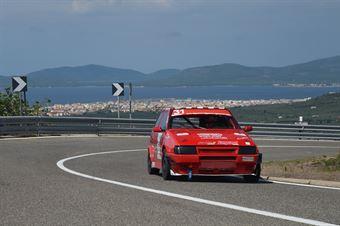 Gerolamo Campus ( Magliona Motorsport, Fiat Uno Turbo #31), CAMPIONATO ITALIANO VELOCITÀ MONTAGNA