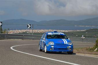 CANALIS Franco ( Team Autoservice Sport, Renault Clio #56), CAMPIONATO ITALIANO VELOCITÀ MONTAGNA
