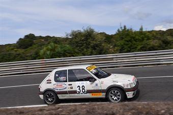 PULINAS Nuccio ( Peugeot 205 #38), CAMPIONATO ITALIANO VELOCITÀ MONTAGNA