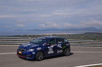 Tagliente Giovanni (Gretaracing Peugeot 308 #82), CAMPIONATO ITALIANO VELOCITÀ MONTAGNA