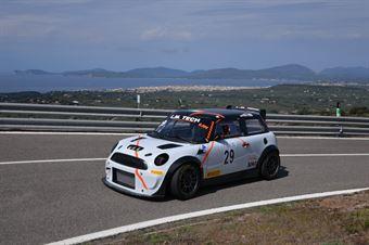 Giuseppe Aragona (Scuderia Cosenza Corse, Mini Cooper JCW #29), CAMPIONATO ITALIANO VELOCITÀ MONTAGNA