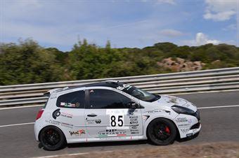 MASCIA Giuseppe ( Ogliastra Racing , Rrenault Clio #85), CAMPIONATO ITALIANO VELOCITÀ MONTAGNA