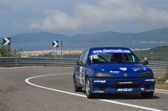 Davide Ignaccolo ( Catania Corse, Peugeot 106 #76), CAMPIONATO ITALIANO VELOCITÀ MONTAGNA
