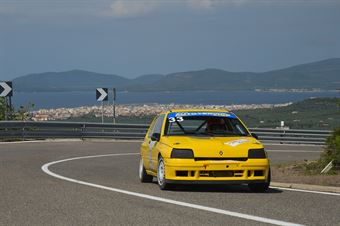 PUTZU Sebastiano ( Team Autoservice Sport , Renault Clio #33), CAMPIONATO ITALIANO VELOCITÀ MONTAGNA