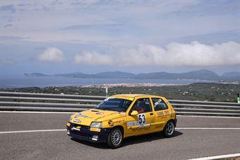 SERRA Gavino M. ( Team Autoservice Sport , Renault Clio #53), CAMPIONATO ITALIANO VELOCITÀ MONTAGNA
