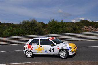 MANNU Giuseppe ( Renault Clio #41), CAMPIONATO ITALIANO VELOCITÀ MONTAGNA