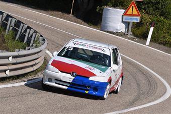 TRINCAS Gianluca ( Racing Experience , Peugeot 106 #75), CAMPIONATO ITALIANO VELOCITÀ MONTAGNA